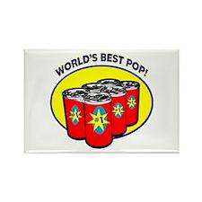World's Best Pop Rectangle Magnet