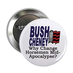 Why Change Horsemen? Button (10 pack)