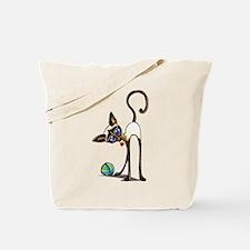 Siamese Yarn Thief Tote Bag