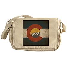 Colorado State Mountains Messenger Bag
