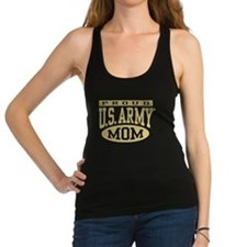 Proud U.S. Army Mom Racerback Tank Top
