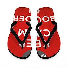 Keep Calm Boulder Flip Flops