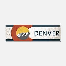 Colorado Denver Car Magnet 10 x 3