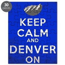 Keep Calm Denver Puzzle