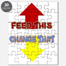 FEED THIS CHANGE THAT Puzzle