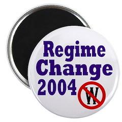 Regime Change 2004 Magnet (100 pack)