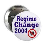 Regime Change 2004 Button