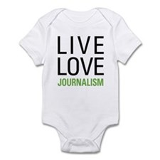 Live Love Journalism Infant Bodysuit