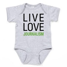 Live Love Journalism Baby Bodysuit
