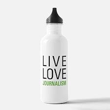 Live Love Journalism Water Bottle