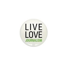 Live Love Journalism Mini Button (10 pack)