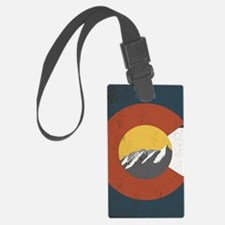 Colorado State Flag Luggage Tag