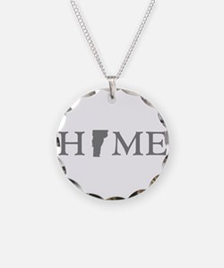 Vermont Home Necklace