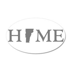 Vermont Home Wall Decal