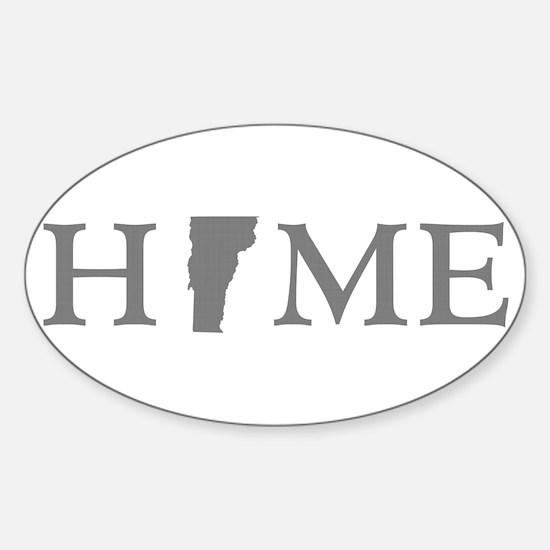 Vermont Home Sticker (Oval)