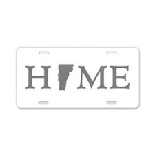 Vermont Home Aluminum License Plate