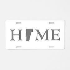 Vermont Home Aluminum License Plate