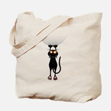 Hang in There Kitty Cat Tote Bag
