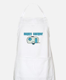 Happy Camper (Blue) Apron