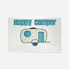 Happy Camper (Blue) Magnets