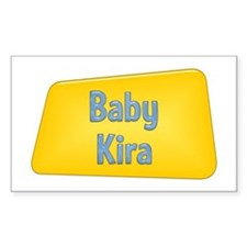 Baby Kira Rectangle Decal