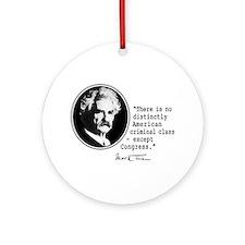 Mark Twain... Ornament (Round)