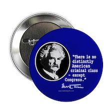 """Mark Twain... 2.25"""" Button (10 pack)"""