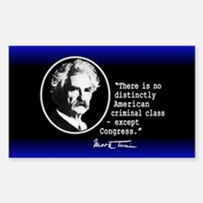 Mark Twain... Decal