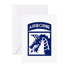 18th Airborne Greeting Cards (Pk of 10)