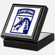 18th Airborne Keepsake Box