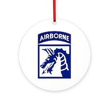 18th Airborne Ornament (Round)