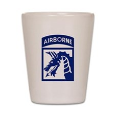 18th Airborne Shot Glass