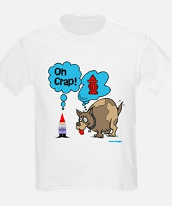 Gnome Visited by the Dog T-Shirt