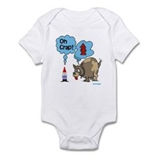 Gnome Visited by the Dog Infant Bodysuit