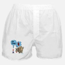 Gnome Visited by the Dog Boxer Shorts