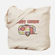 Happy Camper (Pinks) Tote Bag