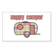 Happy Camper (Pinks) Decal