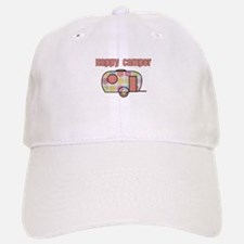 Happy Camper (Pinks) Baseball Baseball Baseball Cap
