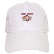 Happy Camper (Pinks) Baseball Baseball Cap