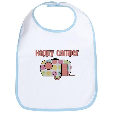 Happy Camper (Pinks) Bib