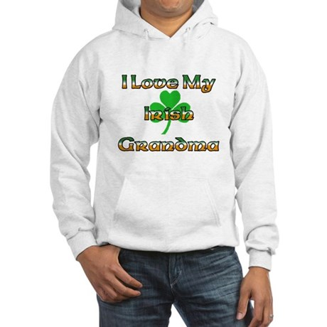 I Love My Irish Grandma Hooded Sweatshirt