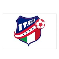 Italian Soccer Postcards (Package of 8)