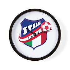 Italian Soccer Wall Clock