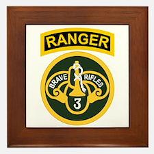 3rd ACR Ranger Framed Tile