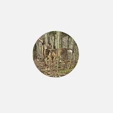 Whitetail Deer Mini Button