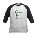 Certified Irish American Kids Baseball Jersey