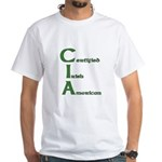 Certified Irish American White T-Shirt