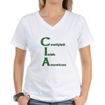 Certified Irish American Women's V-Neck T-Shirt