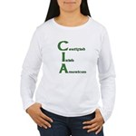 Certified Irish American Women's Long Sleeve T-Shi