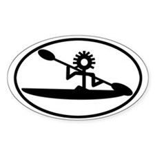 Sea Kayak Glyph Decal